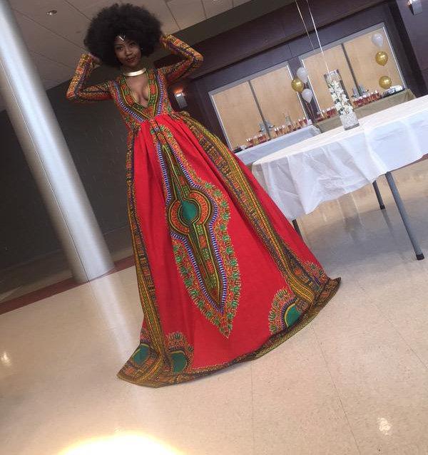 dashiki prom dress - the only way is ghana