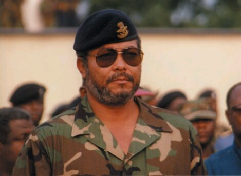 Rawlings-Military - the only way is ghana