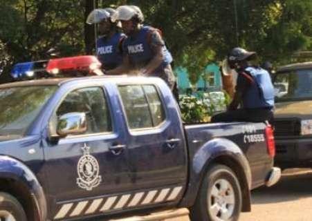 Ghana police - theonlywayisghana