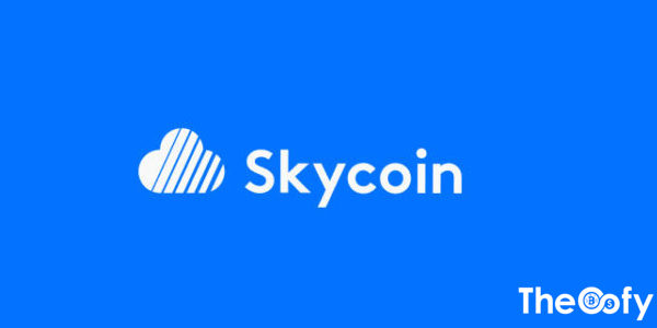 Graphic of Skycoin coin price SKY history