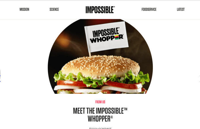 How to find out impossible foods ipo