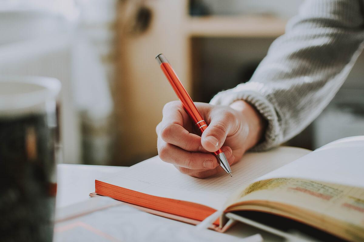 student writer