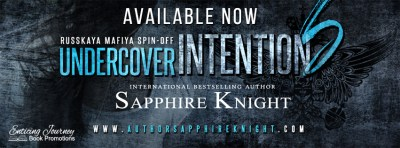 #NewRelease Undercover Intentions by Sapphire Knight
