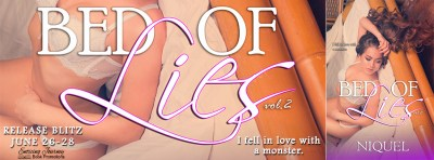 #NewRelease #Giveaway Bed of Lies: Vol 2 by Niquel