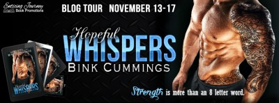 #BlogTour Hopeful Whispers by Bink Cummings