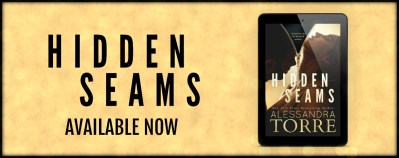 #NewRelease Hidden Seams by Alessandra Torre