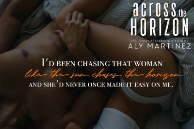 #NewRelease ACROSS THE HORIZON by ALy Martinez
