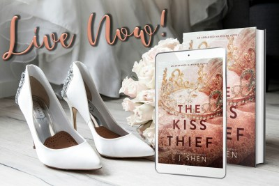 #BlogTour THE KISS THIEF by LJ Shen