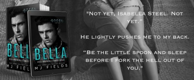 #BlogTour BELLA by MJ Fields
