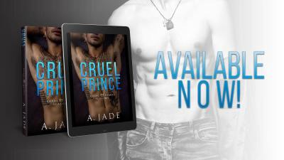 #BlogTour CRUEL PRINCE by Ashley Jade