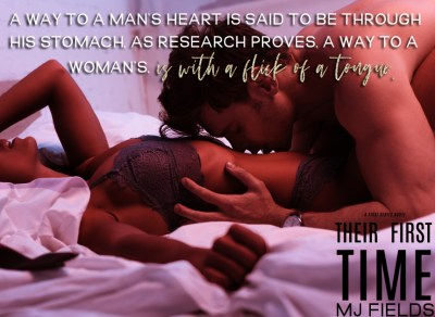 #NewRelease Their First Time by MJ Fields