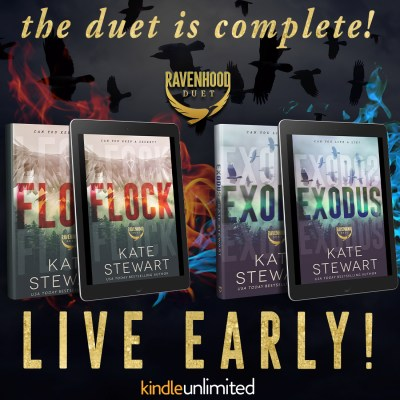 #NewRelease EXODUS: The Ravenhood Duet by Kate Stewart