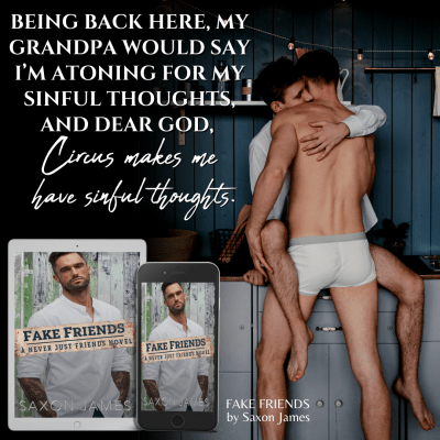 #BlogTour Fake Friends by Saxon James