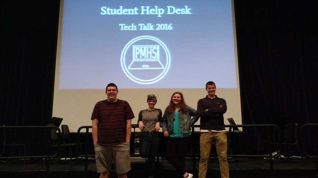 Student Help Desk Tech Talk May 2016