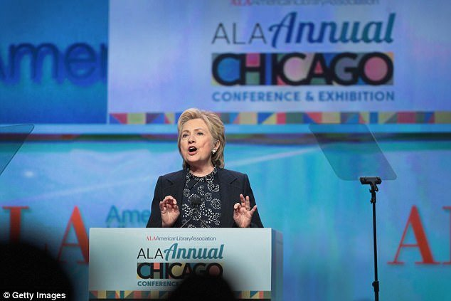 The Open Scroll Blog Hillary being ANAL in the Windy City