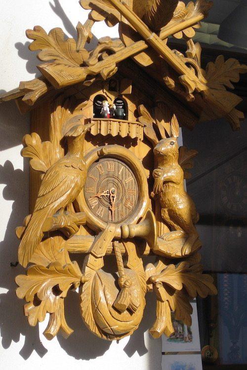Bavarian cuckoo clock