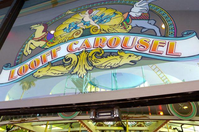 merry-go-round carousel boardwalk