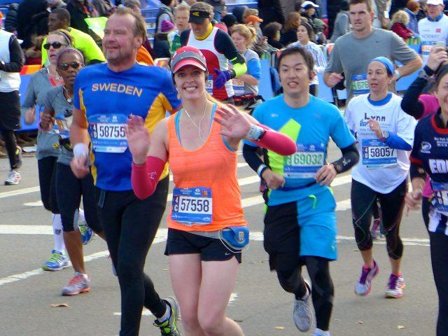 NYC marathon runner running fitness ©TheOpenSuitcaseLLC