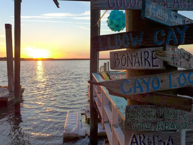 Sunset AJ Grille Tybee