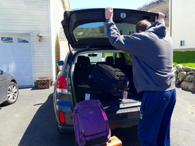 car luggage trip