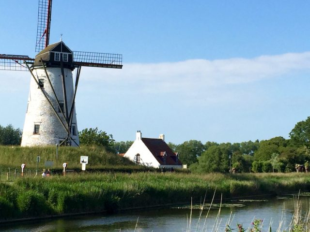 windmill in Daame Belgium