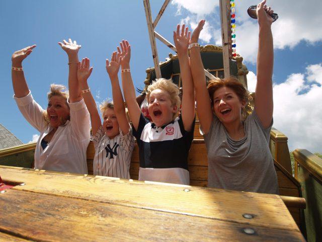 galleon at Quassy Amusement Park