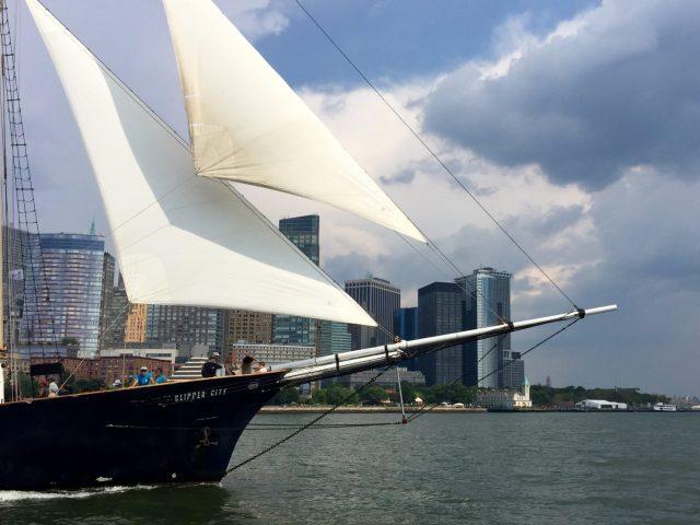 Shearwater schooner
