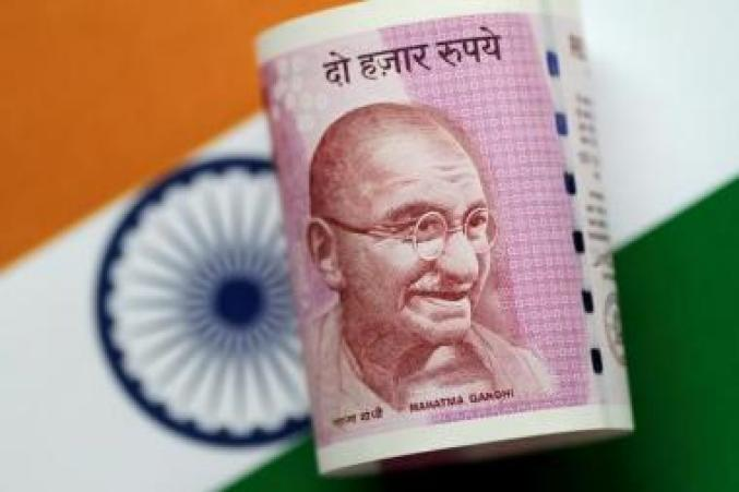 FILE PHOTO: Illustration photo of an India Rupee note