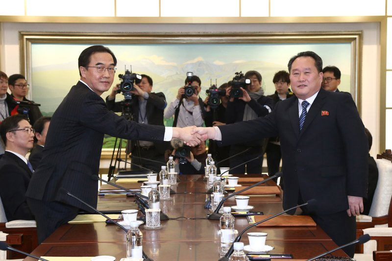 Koreas meet-AP