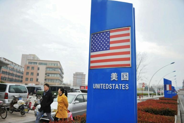 China trade war with USA-afp