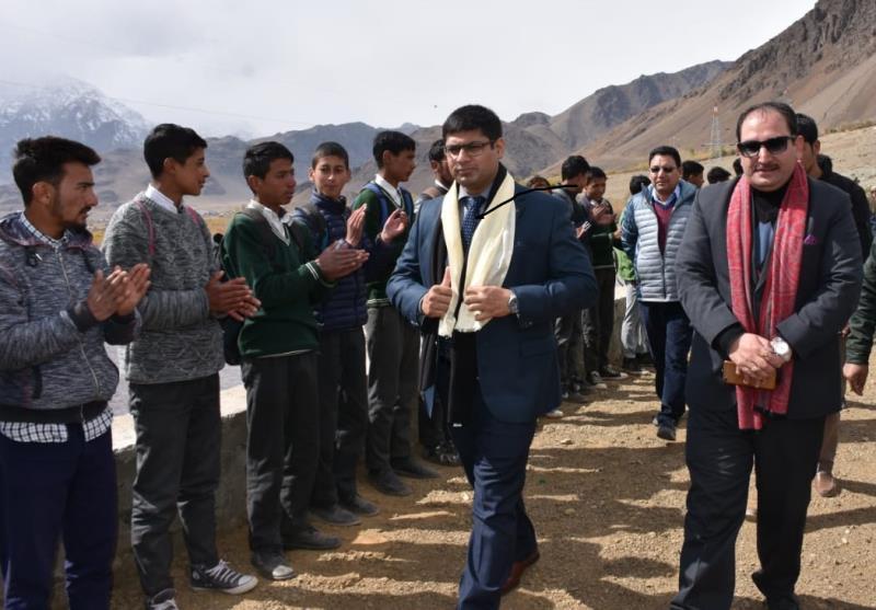 Sports key to National integration: DC Kargil