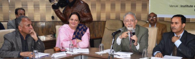 DSEK inaugurates RT conference Safeguarding Schools Strengthening Srinagar-jkinf