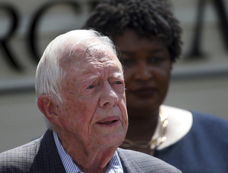 Former President of US Jimmy Carter_Oct 29-AFP