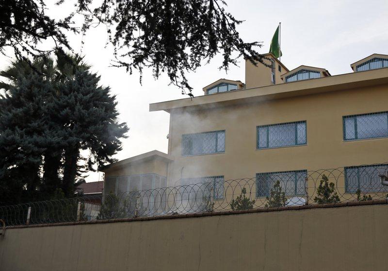 Saudi Arabia consulate in Istambul-AP