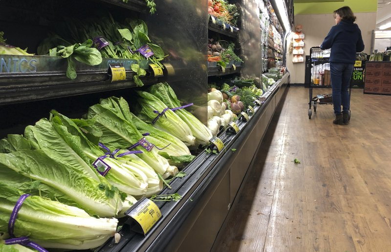 Lettuce warning looms over Thanksgiving dinner   - AP