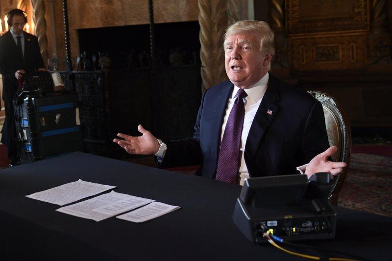 Trump's judicial comments- AP