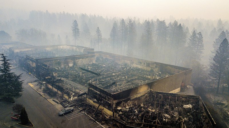 Camp Fire in Northern California in many ways- AP