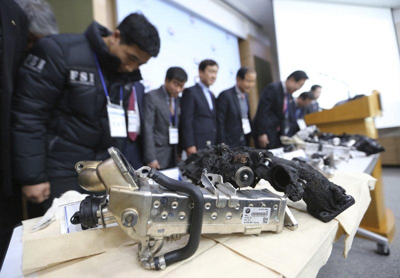 South Korea fines BMW $10 million - AP