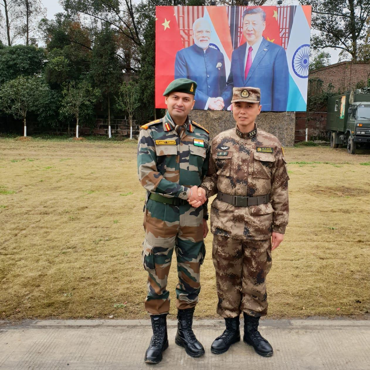 Ceremony Sino-India Joint- pib