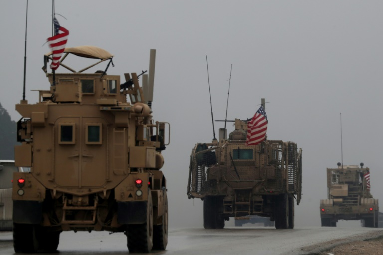 US begins withdrawing gear from Syria, but not troops- AP