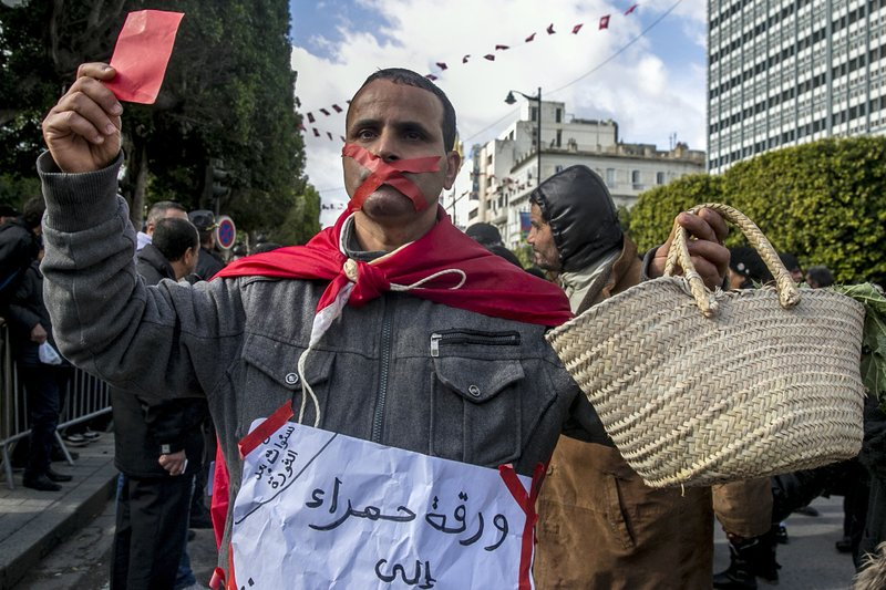 New tensions, worries mark Tunisia's revolution anniversary- AP