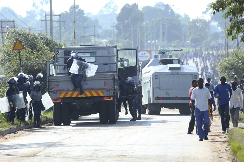 Tensions rise in Zimbabwe's capital after fuel price hikes- AP