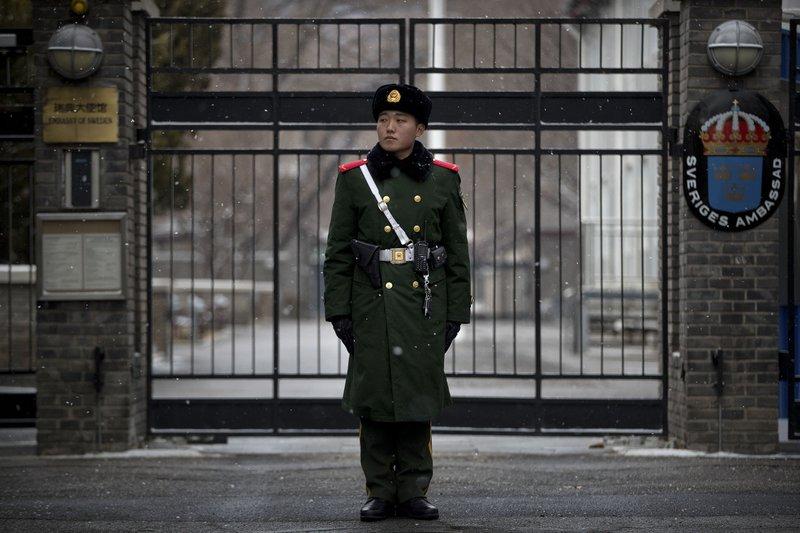 Swedish foreign ministry investigates ambassador to China