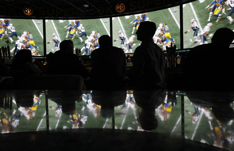 Fans bet on Super Bowl in multiple states for the first time