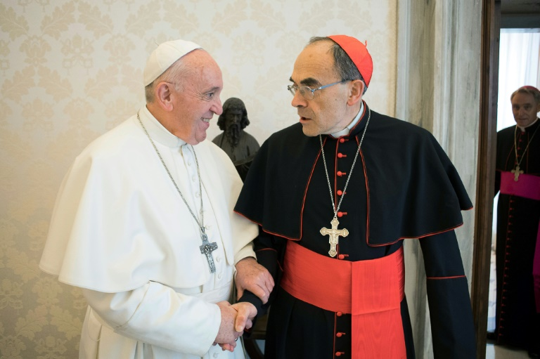 Pope rejects resignation of French cardinal convicted for sex abuse cover-up