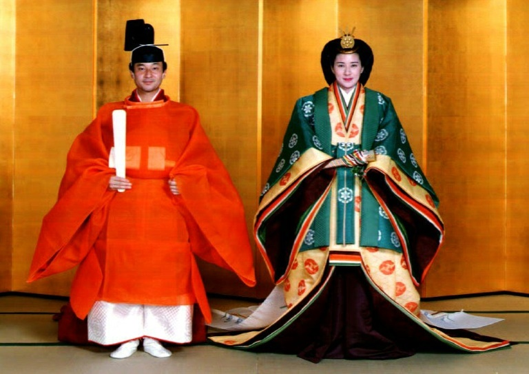 Sceptres and silk: the kit and garb of Japan's enthronement