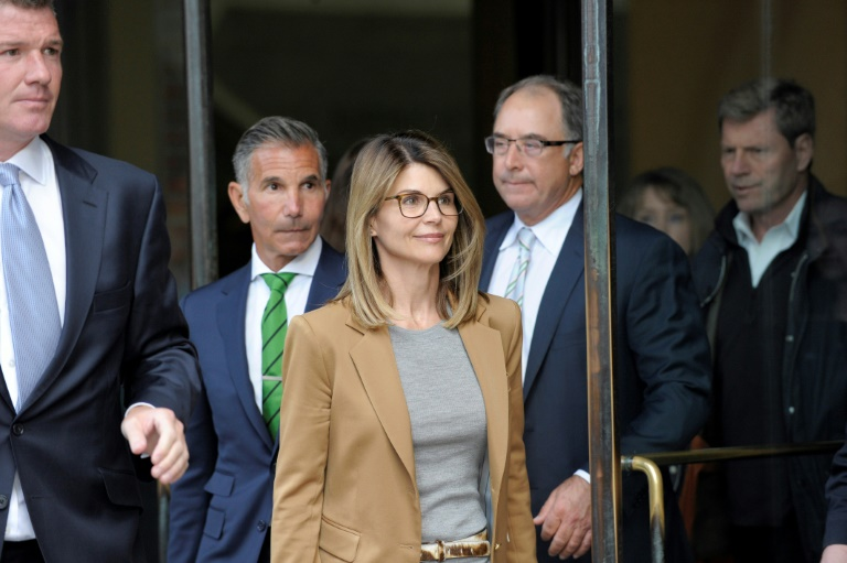 Actress Loughlin pleads not guilty in college bribery scam