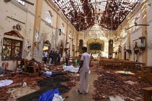 blasts hit churches-PTI