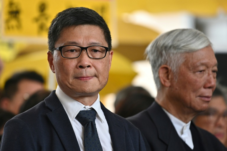 Hong Kong democracy leaders convicted in Umbrella Movement trial