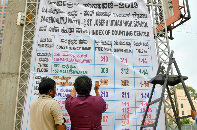 BIG ELECTION WIN INDIA - AFP